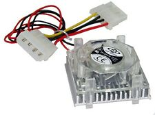 """Topmotor 2"""" Square Clip-on Cooling Fan and Heatsink ( 98C004 )"""