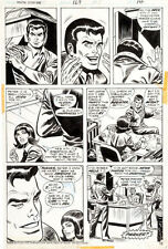 Andru AMAZING SPIDER-MAN 129 pg 10 FIRST EVER PUNISHER APPEARANCE ISSUE ART