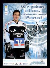 Benjamin Hinterstocker Autogrammkarte Hamburg Freezers 2006-07 + A 140411