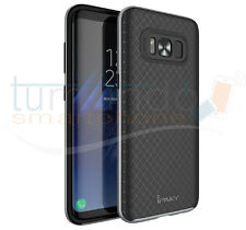 COVER type NEO HYBRID (PC+TPU) BLACK / SILVER for SAMSUNG GALAXY S8 PLUS case