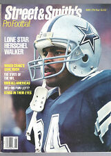 1989 STREET & SMITH PRO FOOTBALL YEARBOOK MAGAZINE-HERSCHEL WALKER-DALLAS COWBOY