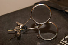 Steampunk-Victorian-Gothic-Cosplay-Whitby-CHROME MAGNIFYING DUEL LOUPE- Glasses