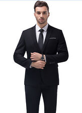 2017 New Style Men's Business Casual Suit Slim Wedding Suits Two Piece Suit