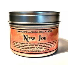 New Job Spell Candle - Handmade & Organic (Wicca, Witchcraft, Hoodoo)