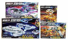 New STAR TREK KRE-O LOT Enterprise BIRD-OF-PREY Vengeance A3137 A4364 A3136 KREO