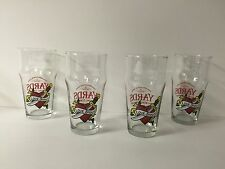 Yards Brewing Co. Love Stout 16 oz Beer Glass Set of Four-4 Eng. Pub Glasses NEW