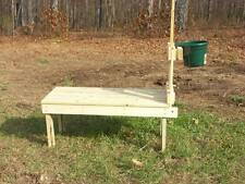 Goatstand.com Large 48x22 Carpenter Build Goat Stanchion - Goat Milking Stand