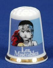 'Les Miserables' The Show Advert Bone China Thimble B/11