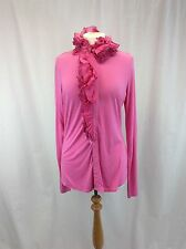 BNWT Ralph Lauren Evelyn Ruffle Blouse UK Size M RRP £170