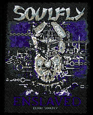 SOULFLY - Patch Aufnäher - Enslaved 9x10cm