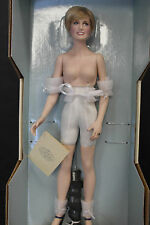 "Franklin Mint Princess Diana Doll Porcelain Princess Of Enchantment 17"" NUDE!"