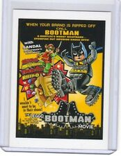 "2017 WACKY PACKAGES/GARBAGE PAIL KIDS ""THE LEGGO BOOTMAN MOVIE"" NETWORK SPEWS"