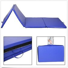 "New 4'x10'x2"" Folding Gymnastics Gym Exercise Mats Stretching Yoga Floor Pad Mat"