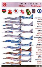 Linden Hill Decals 1/48 MIKOYAN MiG-29 FULCRUM 9-13 Series in Global Service