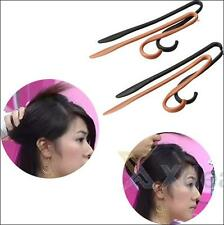 XD#3 NEW Hairpin Hair Clip Updo Headwear Twist Jumbo Clips Hairstyle