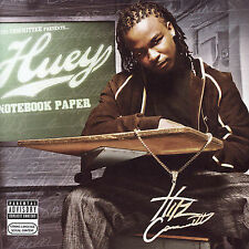 Huey: Notebook Paper  Audio CD
