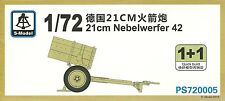 S-Model 1/72 21cm Nebelwerfer 42 (2 kits per box)