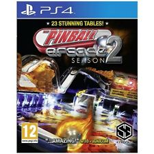 Pinball Arcade Season 2 PS4 Game  Brand New