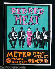 STEVE WALTERS-RED RED MEAT-Artist Signed & Numbered Silkscreen Poster-Screwball