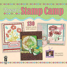 TERESA'S STAMP CAMP #1 DVD-Cardmaking-Stamping Techniques-Paper Craft Card Ideas