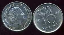 PAYS BAS  10 cents 1963  ( bis )