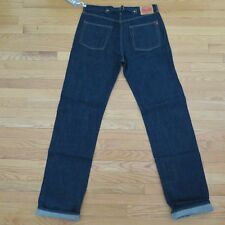 VINTAGE ORIGINAL REPLAY JEANS DENIM SELVEDGE BUCKLE BACK 1990s 36X34 MADE ITALY