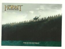 2014 The Hobbit An Unexpected Journey The Lonely Mountain flashback cards P-12