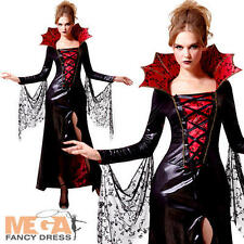 Midnight VAMPIRESS onorevoli Costume Halloween Da Donna Adulti Costume Vampiro