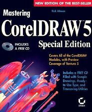 1994 SPECIAL EDITION Corel Draw 5 w/CD / Rick Altman /Preview of Ventura 5  wb01