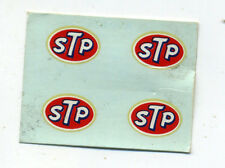 vtg STP decal water slide model kit hot rod drag race muscle car toy novelty