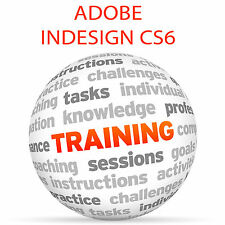 Adobe Indesign CS6-Video Tutorial DVD de entrenamiento