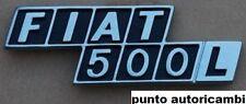 SCRITTA FREGIO LOGO POSTERIORE FIAT 500 L  IN ZAMA