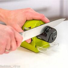 Home Electric Sharpener for kitchen Knife/Knives/Scissors/Blades/Screw Drivers