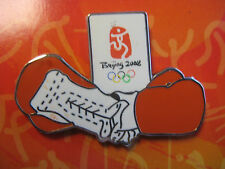 Beijing 2008 Olympic Pin - Boxing Gloves