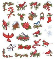 OESD Embroidery Machine Designs USB STICK CHRISTMAS CARDINALS