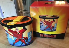 Disney Pixar The Incredibles Cookie Jar Violet Dash Frozone MIB Disneyana
