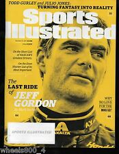2015 Sports Illustrated NASCAR's Jeff Gordon Subscription Issue NR/Mint