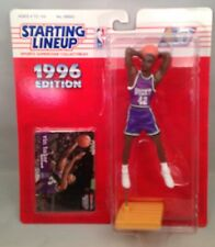 1996 Starting Lineup Superstar Collectible Figure Bucks Vin Baker