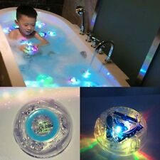 Fun Bathroom LED Light Kids Color Changing Toys Waterproof In Tub Bath Time