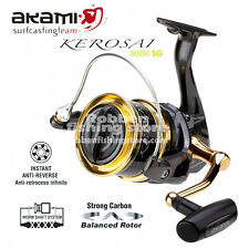 MULINELLO AKAMI KEROSAI 8000 SG 10 CUSCINETTI fishing reel ww ship
