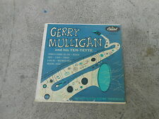 "GERRY MULLIGAN AND HIS TEN TETTE-CHET BAKER-10"" LP-CAPITOL  H 439-VG+"