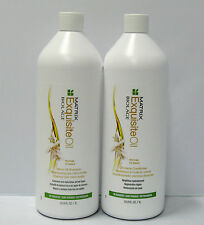 Biolage Exquisite Oil Shampoo Conditioner 33.8 oz Liter Duo Set Matrix