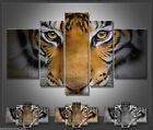 black white art Tiger HUGE OIL PAINTING MODERN ABSTRACT WALL DECOR ART CANVAS
