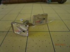 Vintage Fly Flies Fishing Lucite Plastic 1960's Quality CUFFLINKS