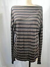 VINCE Striped Blouse Size Large