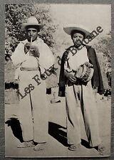 Document photo MEXIQUE musiciens mexicains flute et tambour   clipping