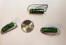 Cornell Dubilier PM series Capacitor GREENIES .001uf 600v Axial PM6D1 VintageNOS