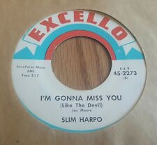Slim Harpo ‎– Baby Scratch My Back / I'm Gonna Miss You (Like The Devil)