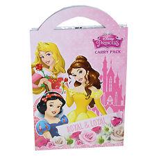Kinder Activity PACK ZU TRAGEN Disney Prinzessin Weihnachtsstrumpf Füller