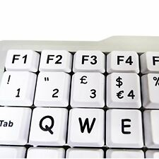 HCL 591-5239 Visually Impaired Person Keyboard for Special Needs  Blind | XL